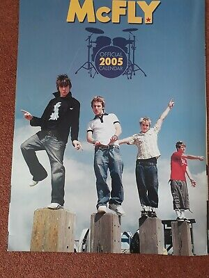 McFly Official Calendar 2005 Calendar UK 112 DANILO 2004 • 4.35£