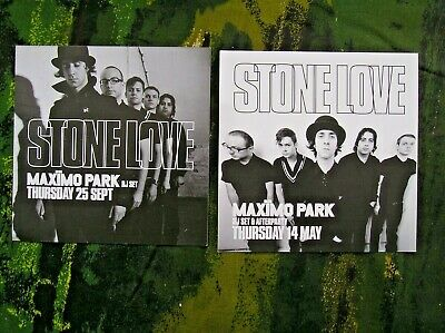 Maximo Park Dj Set At Digital Newcastle Promo Flyers From 2008 And 2009 • 1.99£