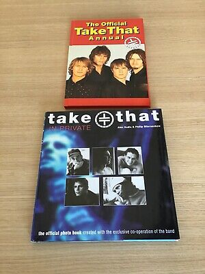 Take That Hardback Books Bundle,Take That In Private,Take That Official Annual • 3.99£