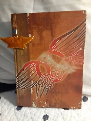 ☆AEROSMITH☆ Official Journal Notebook ☆Attached Logo Bookmark☆ 2011☆Classic Rock • 7.86£
