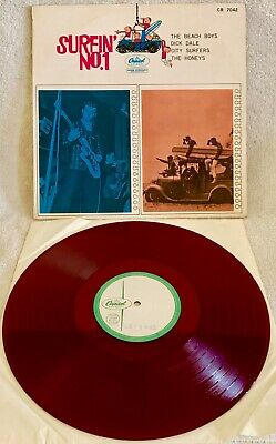 Beach Boys, Dick Dale... Surfin' No.1  Ultra-rare Japanese Red Wax Test Pressing • 148.16£