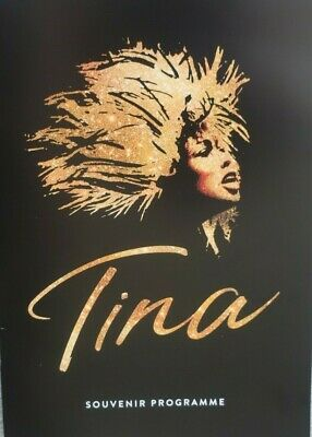 TINA THE MUSICAL SOUVENIR PROGRAMME Of The Stage ShowStarring Adrienne Warren • 15.99£