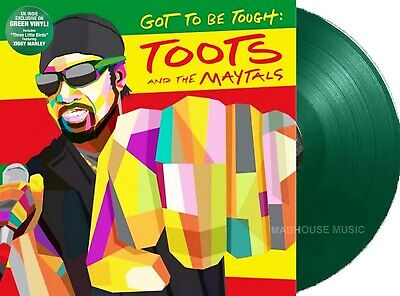 SKA TOOTS And The MAYTALS LP Got To Be Tough GREEN Vinyl 1st Press MAILS SAME DA • 23.95£