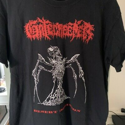 Gatecreeper Shirt Size L Death Metal Relapse Obituary Entombed • 3£