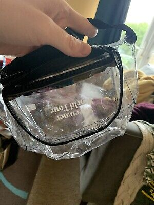 Ariana Grande Sweetener World Tour - Clear Fanny Pack • 4.10£