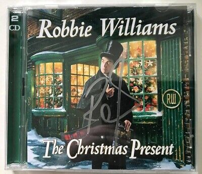 Robbie Williams The Christmas Present Signed Autographed CD Album • 49.99£