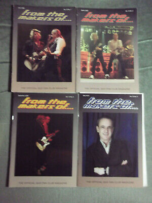 Status Quo Ftmo Fan Club Magazine Vol 10 - Issues. 1,2,3,4  - 2008/ 2010 • 9.99£