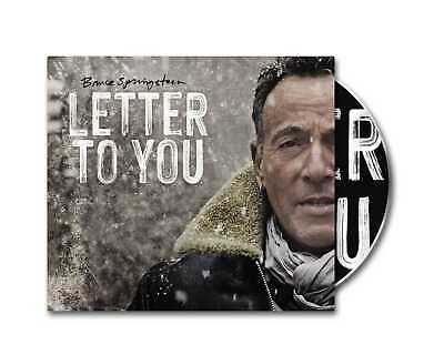 Bruce Springsteen - Letter To You (NEW CD) PREORDER 23/10/20 • 12.75£