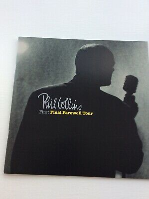 Phil Collins First Final Farewell Tour Programme. In Envelope + 3 Ticket Stubs • 11.90£
