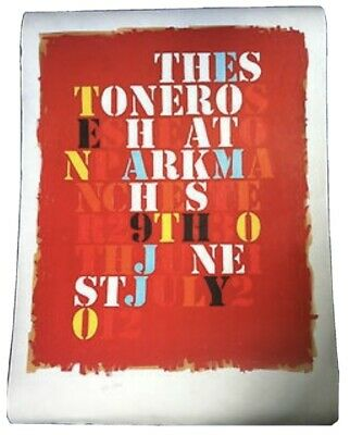 **WANTED** Original Stone Roses Heaton Park Lithograph - In Good Condition £200 • 200£