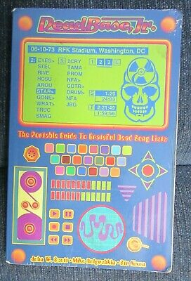 DeadBase Jr. Book Used RARE Grateful Dead & Company Jerry Garcia Used No Poster • 23.60£