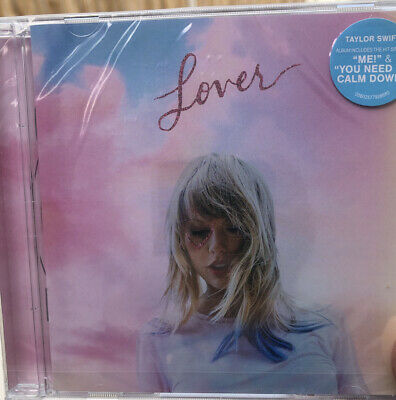TAYLOR SWIFT - LOVER  [CD] New Unsealed Free Post U.K. • 6.99£