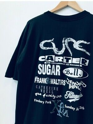 90s The Cure. Carter. Sugar. Belly. T-shirt • Vintage • 45£