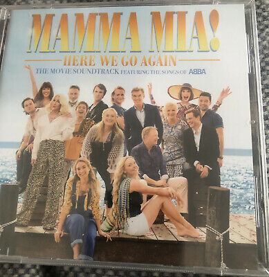 Various Artists : Mamma Mia! Here We Go Again CD (2018) New Sealed Cd Free Post • 2.85£