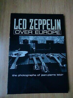 Led Zeppelin: Over Europe Photo Book • 150£