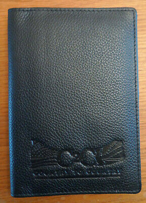 C2c Country To Country Festival New Brown Leather Passport Cover Promotional • 15£