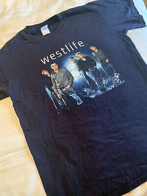 Westlife World Of Our Own Tour 2002 T Shirt Memorabilia • 20£