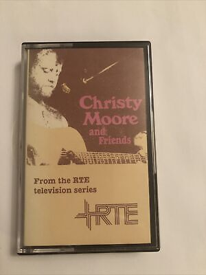 Rare Christy Moore. Christy Moore And Friends. RTE Television. Cassette Tape • 10£