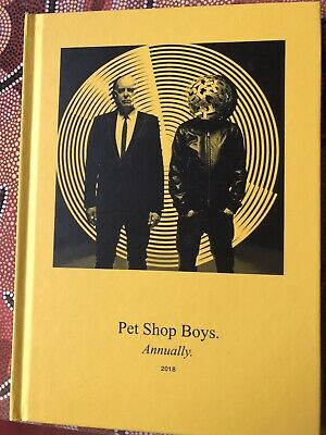 Yellow Pet Shop Boys Annually 2018 OOP  SEALED MINT • 40£