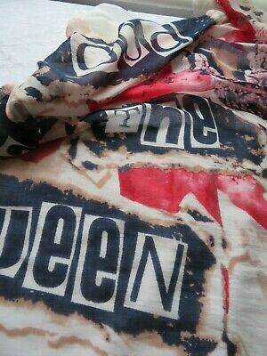 Large 'God Save The Queen' Retro Punk Scarf, After The Sex Pistols 1970s Hit  • 10.50£