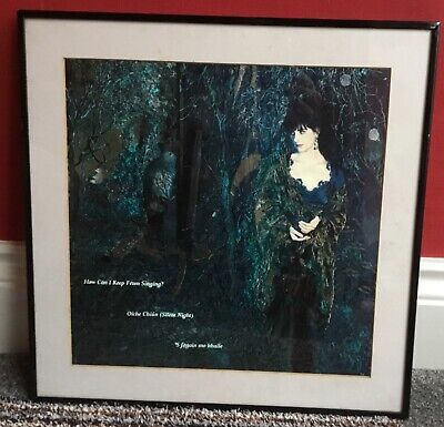 Enya .How Can I Keep From Singing(UK Official Promo Only) Framed Print Rare 1991 • 349£