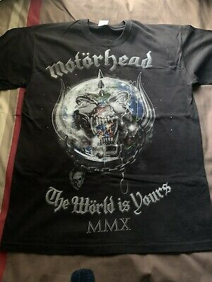 Motorhead Music Clothing Memorabilia • 20£