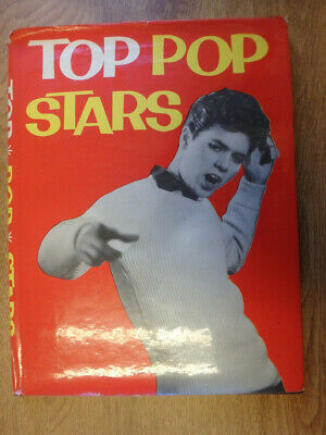 1960 Vintage Top Pop Stars Book - Cliff Richard Front Cover With Dust Cover  • 6.50£