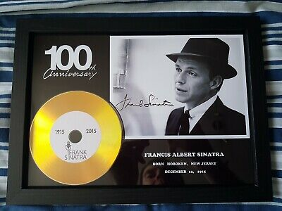 Frank Sinatra 100th Anniversary Framed Record & Picture • 9.99£