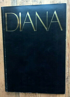 Diana Ross 1982 Uk Tour Programme • 8£