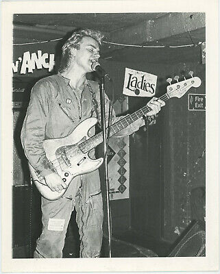 Sting  The Police  Performing In The1970's • 143.05£