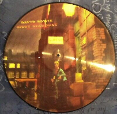"""New David Bowie The Rise & Fall Ziggy Stardust 12"""" Inch Picture Pic Disc & C0ver • 79.98£"""