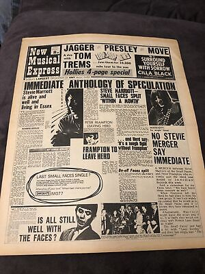 New Musical Express NME 8 March 1969 No.1156 • 10£
