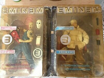 2 X Eminem Action Figure - My Name Is Chainsaw And Art Asylum • 150£