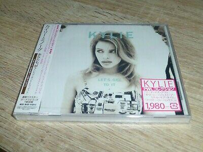 Kylie Minogue Rare - Japan Lets Get To It 2012 Remastered New Sealed Collector • 35£
