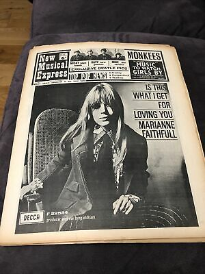 New Musical Express NME 18 February 1967 No. 1049 • 8£
