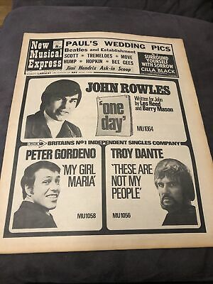 New Musical Express NME 15 March 1969 No 1157 • 6£