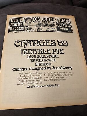 New Musical Express NME 4 October 1969 • 8£