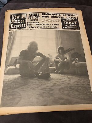 New Musical Express NME 25 October 1969 • 10£