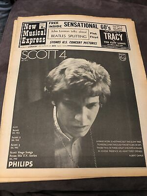 New Musical Express NME 13 December 1969 • 5£