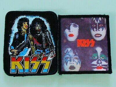 2 Kiss ~ Heavy Metal Patches • 9.95£