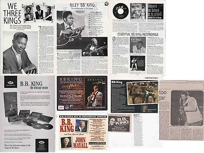 BB KING : CUTTINGS COLLECTION - Adverts  • 4.50£