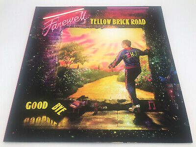 Eloton John Farewell Yellow Brick Road Tour Programme • 15.50£