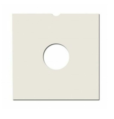 100 12  Record Sleeves / Covers - White Card ( Masterbags ) Free 24h Delivery • 27.95£