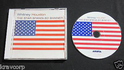 Whitney Houston 'the Star Spangled Banner' 2001 Promo Cd • 24.70£