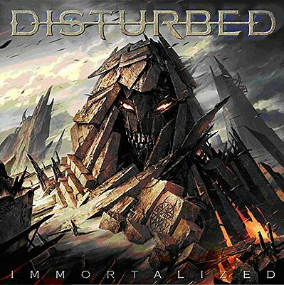 DISTURBED IMMORTALIZED CD Incl: THE SOUND OF SILENCE (new Sealed) • 7.45£