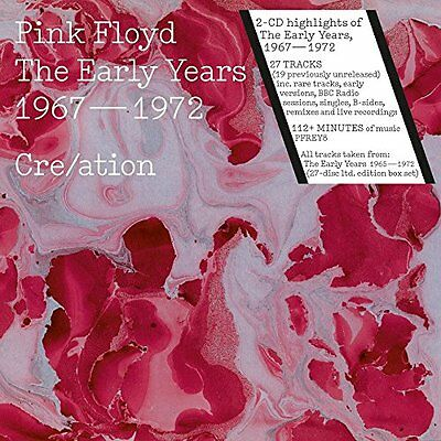 PINK FLOYD THE EARLY YEARS 1965-72 CRE/ATION 2CD (Released 11/11/2016) • 9.25£