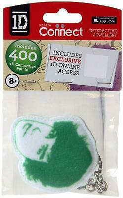 One Direction Interactive Jewellery - Fabric Keyring - Green - Liam - New • 2.99£