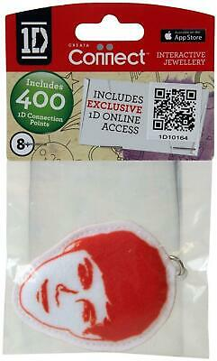 One Direction Interactive Jewellery - Fabric Keyring - Red - Niall - New • 2.99£