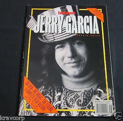 Jerry Garcia—1995 Commemorative Entertainment Weekly Special • 12.50£