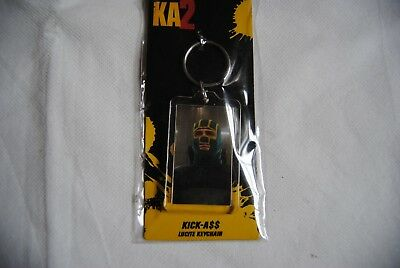 Kick Ass 2 Face Lucite Plastic Keychain Keyring New Official Ka2 Movie Film A$$ • 2.99£